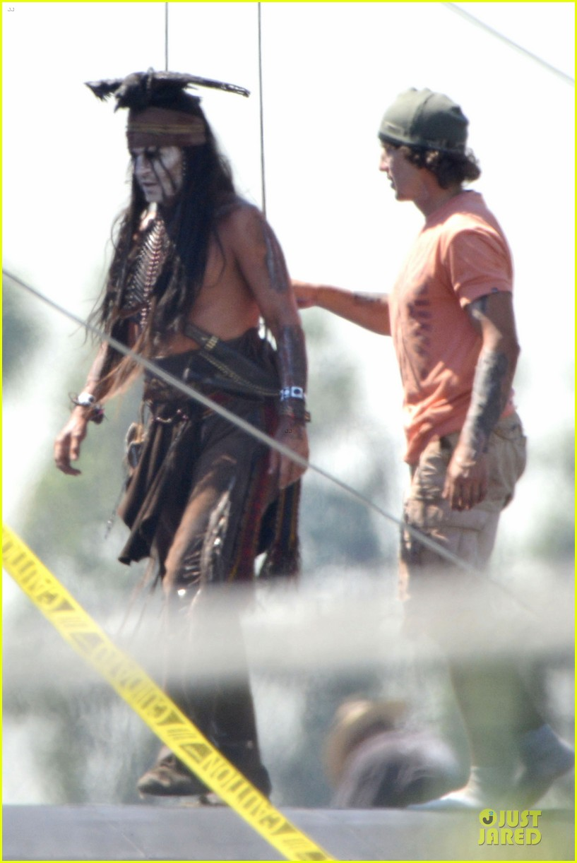 johnny depp lone ranger set 14