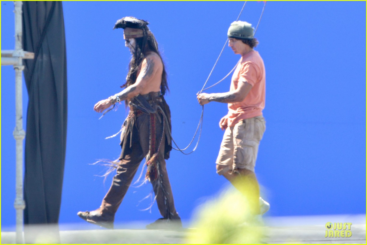 johnny depp lone ranger set 172724787