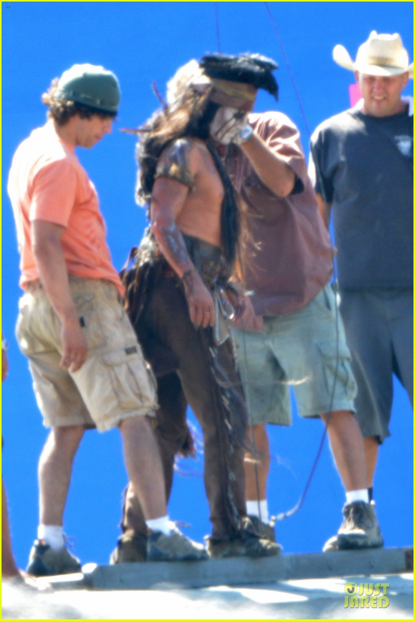 johnny depp lone ranger set 182724788
