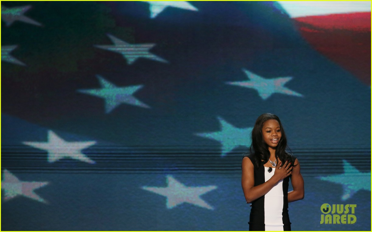 alexis bledel gabby douglas democratic national convention 022714971