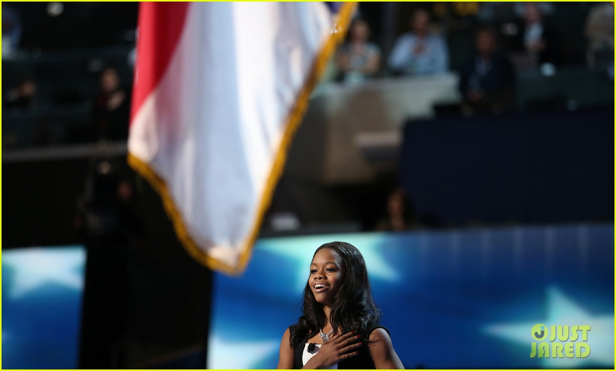 alexis bledel gabby douglas democratic national convention 132714982