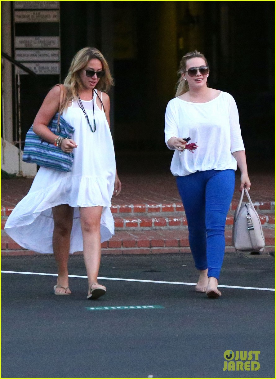 hilary duff palos verdes with haylie 042718549