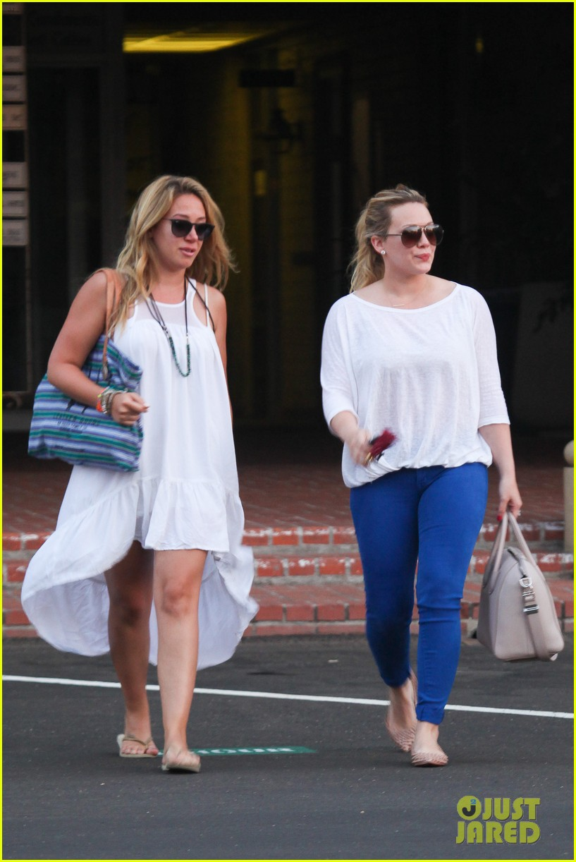 hilary duff palos verdes with haylie 072718552