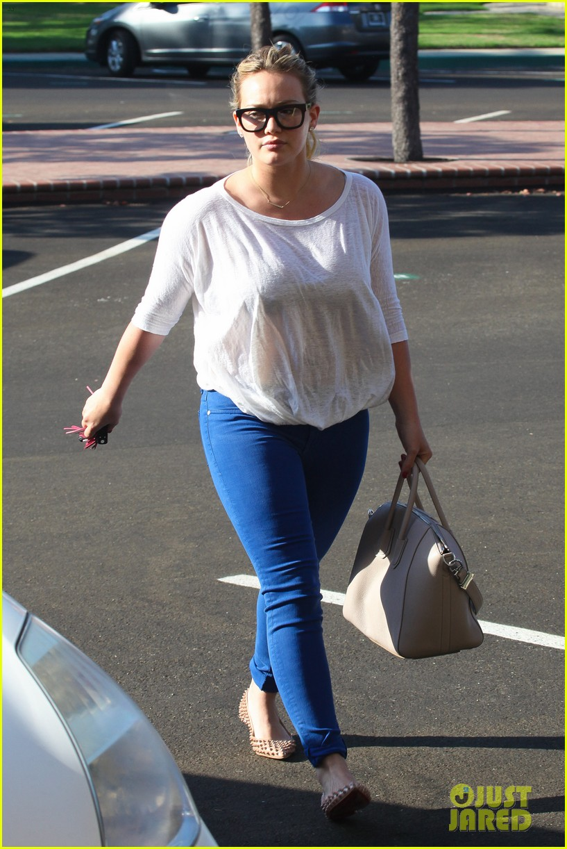 hilary duff palos verdes with haylie 082718553