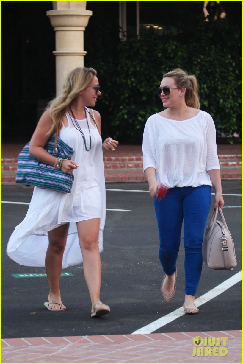 hilary duff palos verdes with haylie 092718554
