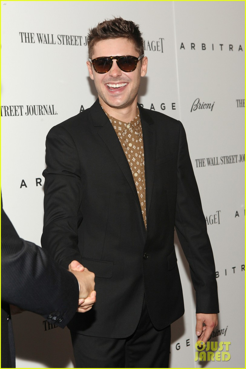 zac efron arbitrage premiere new york city 012721661