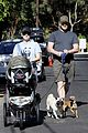 anna faris chris pratt strolling with baby jack 01