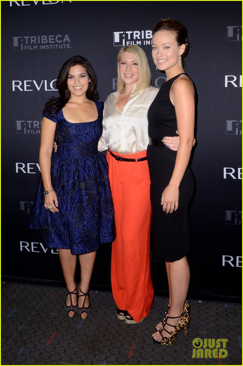 america ferrera olivia wilde half the sky screening 052721486