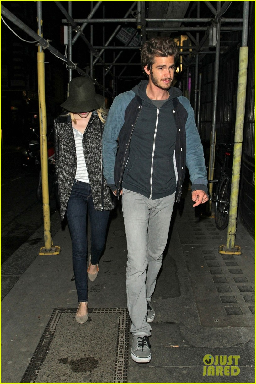 andrew garfield emma stone low profile in london 06