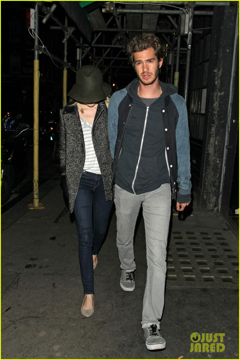 andrew garfield emma stone low profile in london 072729091