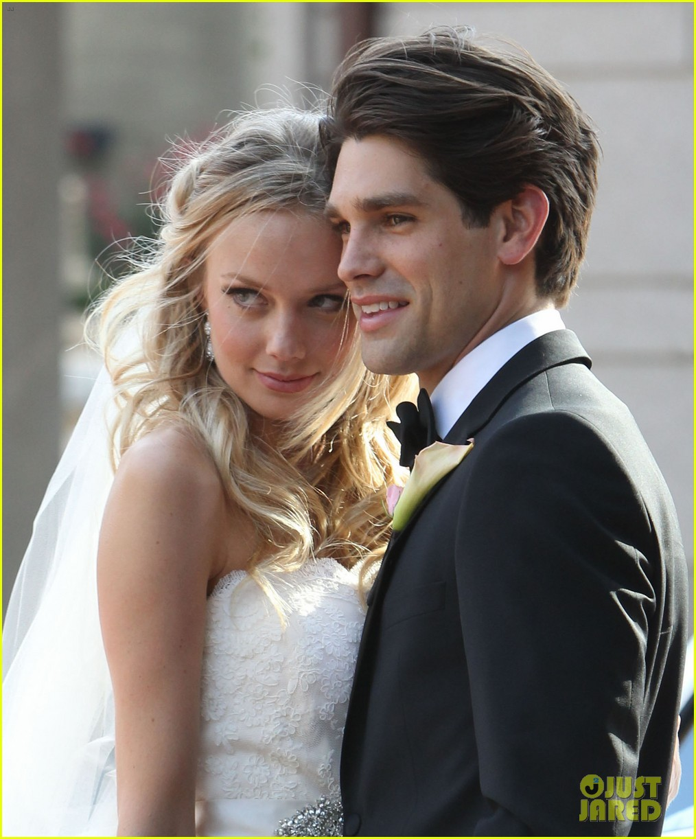 justin gaston weds melissa ordway first wedding pictures 04