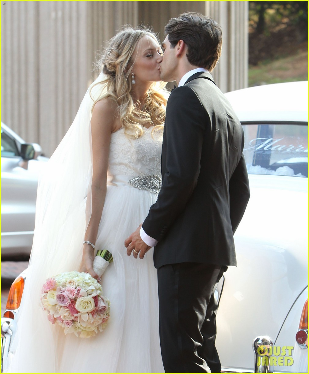 justin gaston weds melissa ordway first wedding pictures 132726572