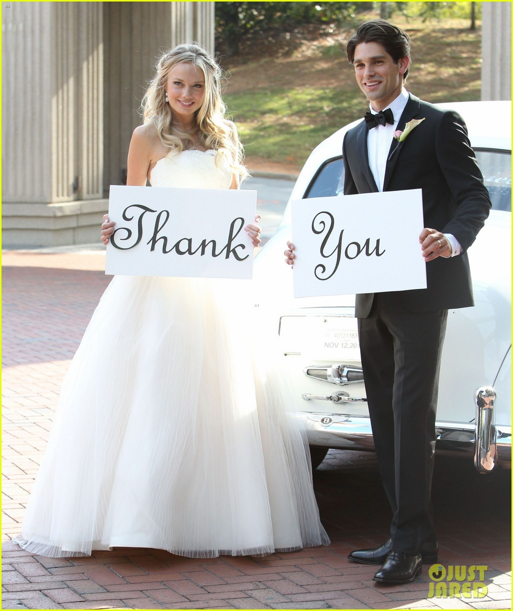 justin gaston weds melissa ordway first wedding pictures 182726577
