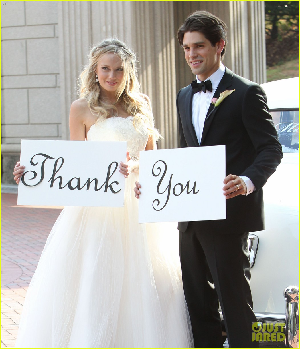 justin gaston weds melissa ordway first wedding pictures 192726578