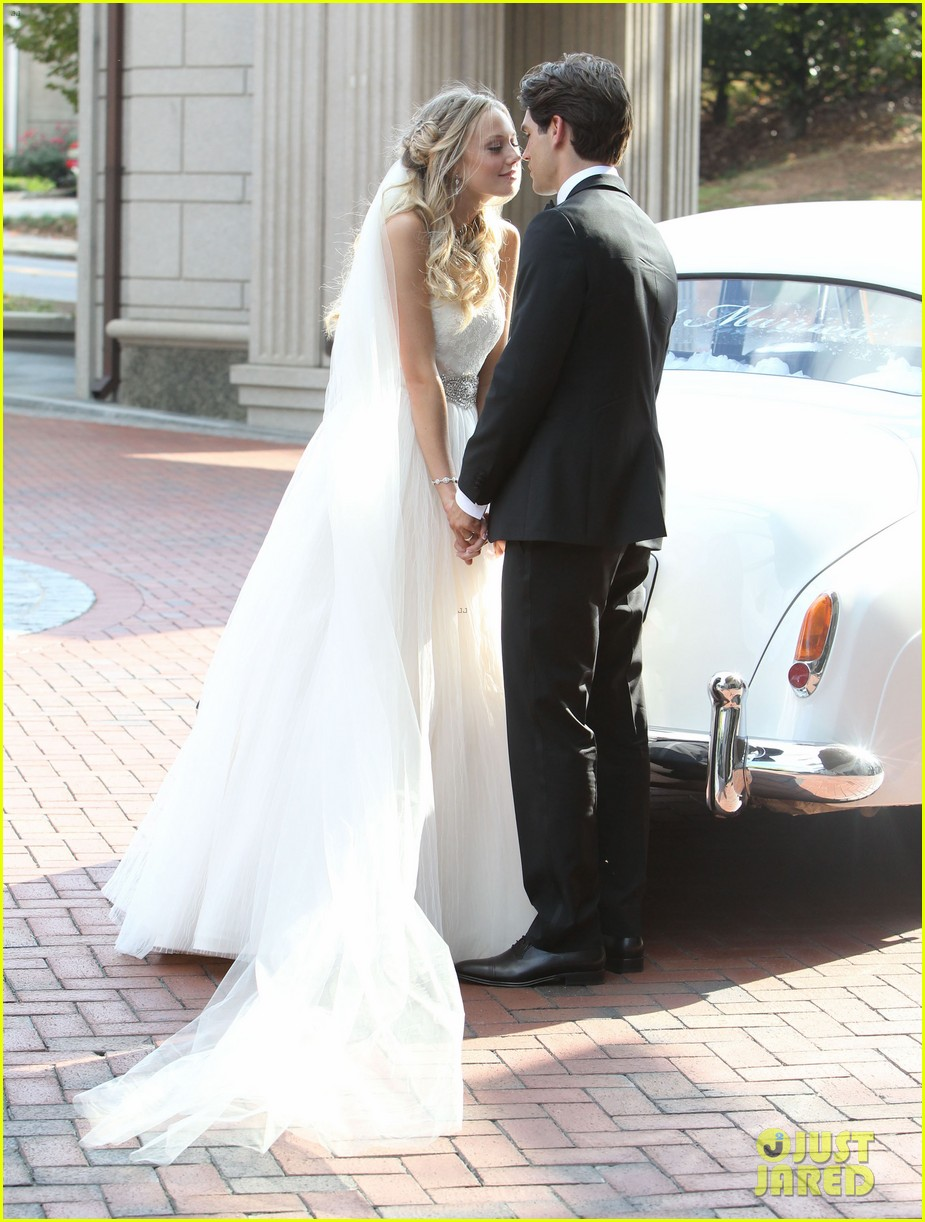 justin gaston weds melissa ordway first wedding pictures 24