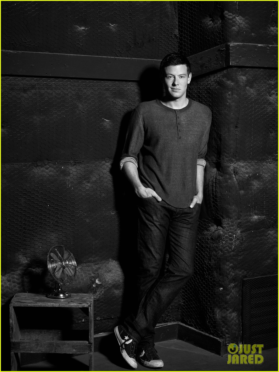 lea michele cory monteith glee faces of fox campaign 082713993