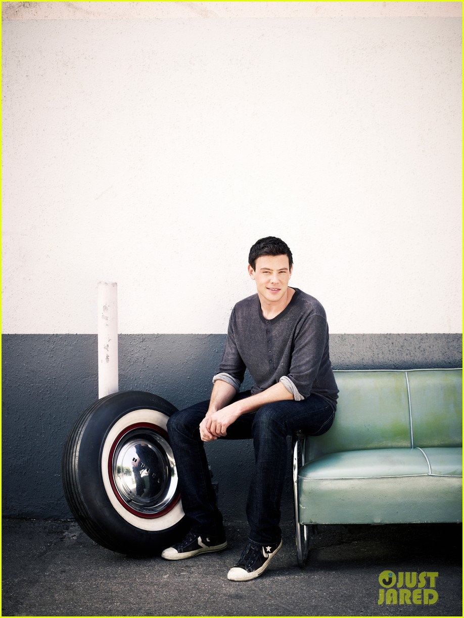 lea michele cory monteith glee faces of fox campaign 092713994