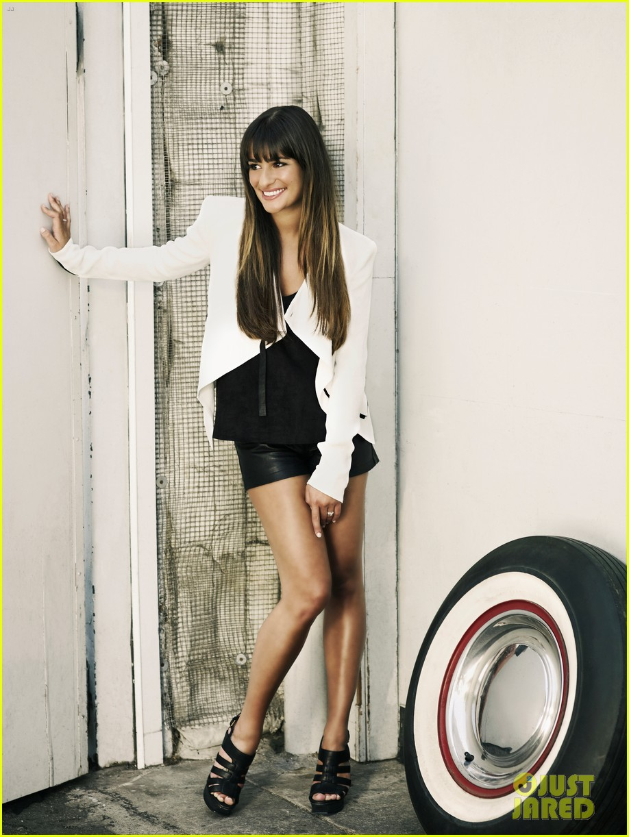 lea michele cory monteith glee faces of fox campaign 242714009