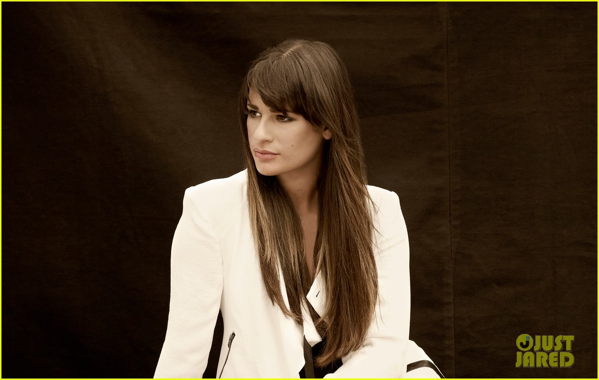lea michele cory monteith glee faces of fox campaign 272714012