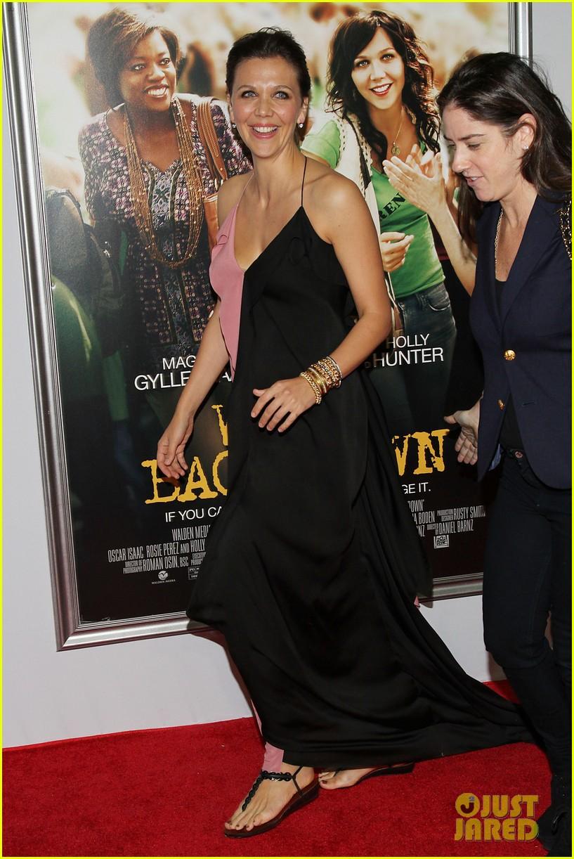 maggie gyllenhaal viola davis wont back down premiere 01