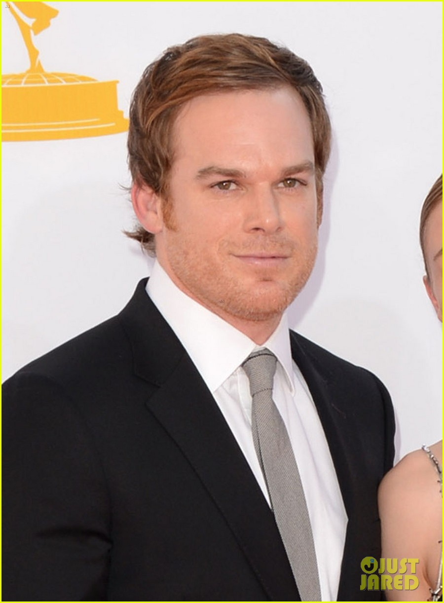michael c hall emmys with new girlfriend morgan macgregor 012727329