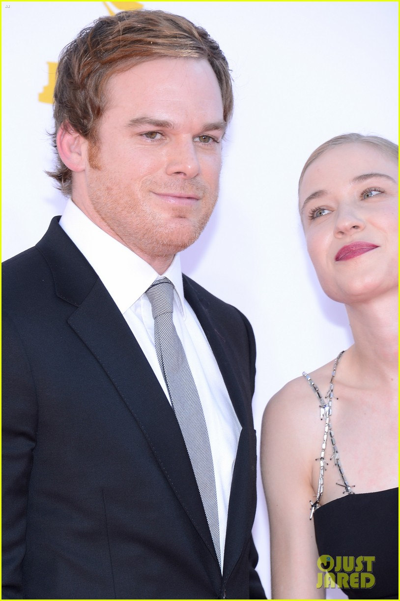 michael c hall emmys with new girlfriend morgan macgregor 052727333