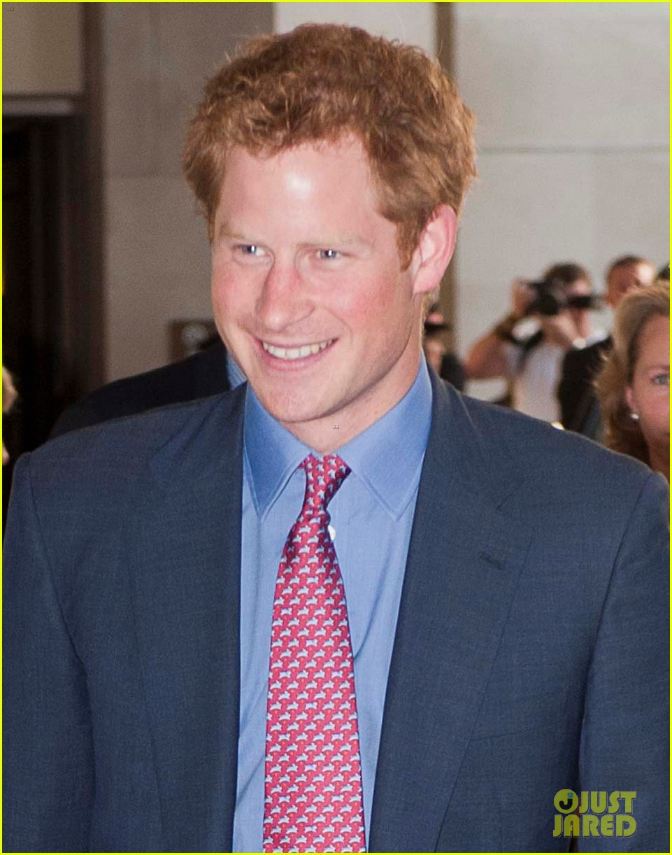 prince harry first post nude pictures scandal appearance 032713443