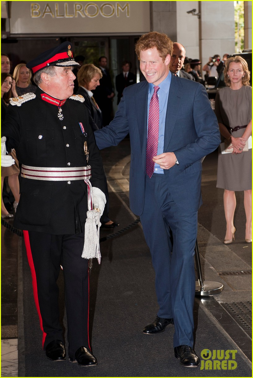 prince harry first post nude pictures scandal appearance 04