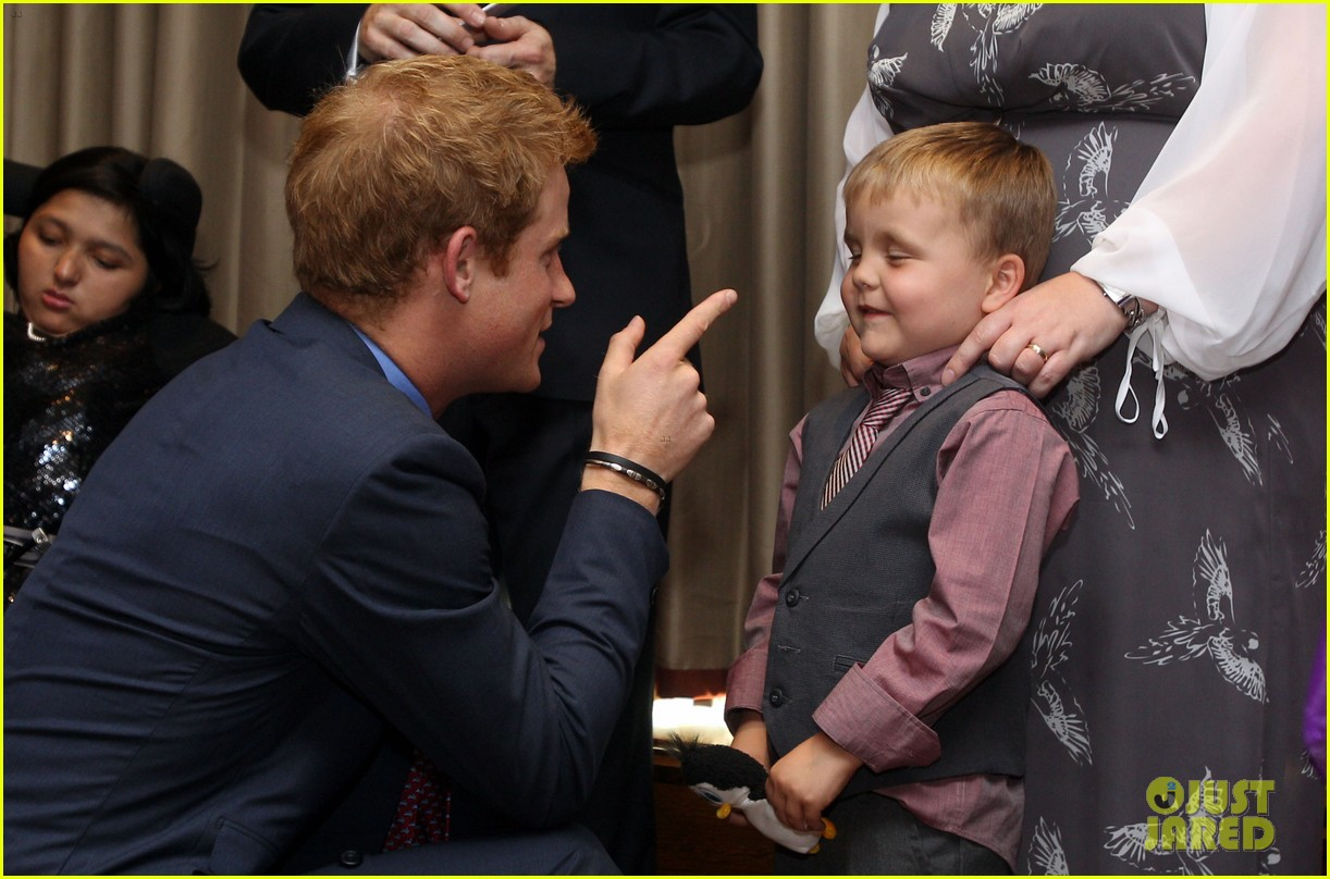 prince harry first post nude pictures scandal appearance 112713451