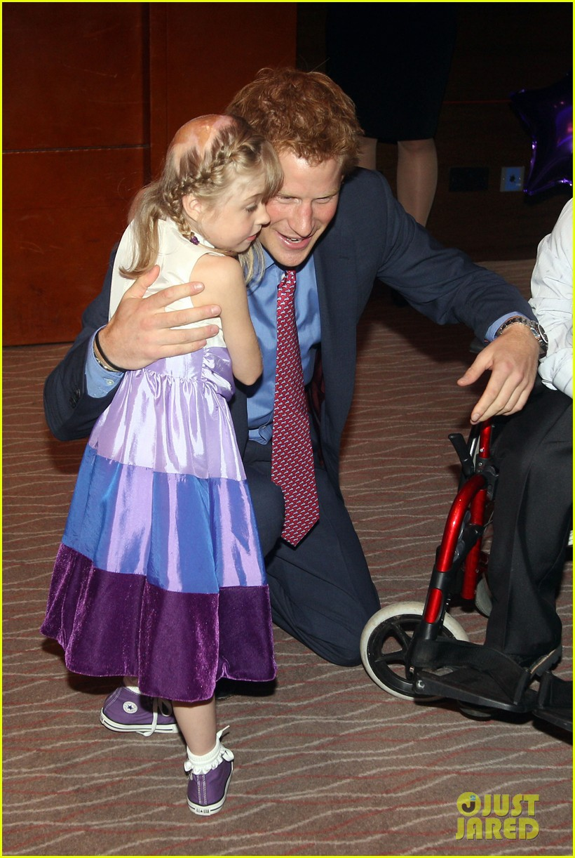 prince harry first post nude pictures scandal appearance 14