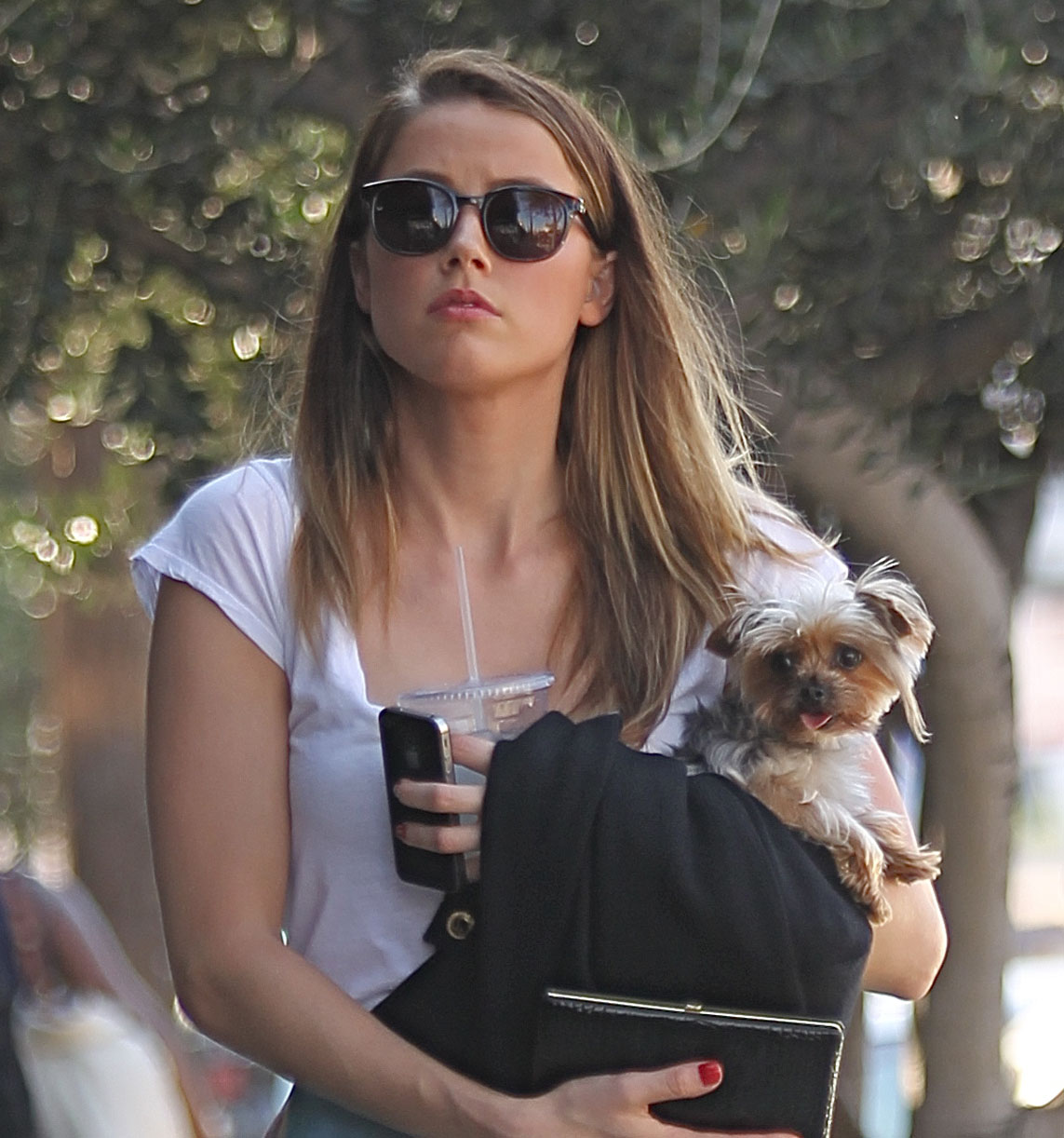 Zoe Kravitz Vs Amber Heard: Amber Heard: Joan's On Third Craving: Photo 2723415