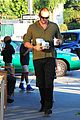 heidi klum starbucks run with kids 16