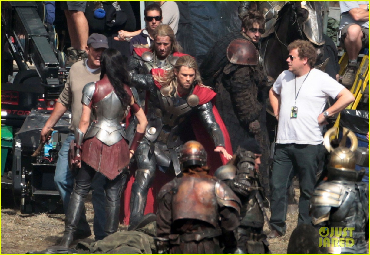 chris hemsworth thor 2 begins filming first set pics 072719376