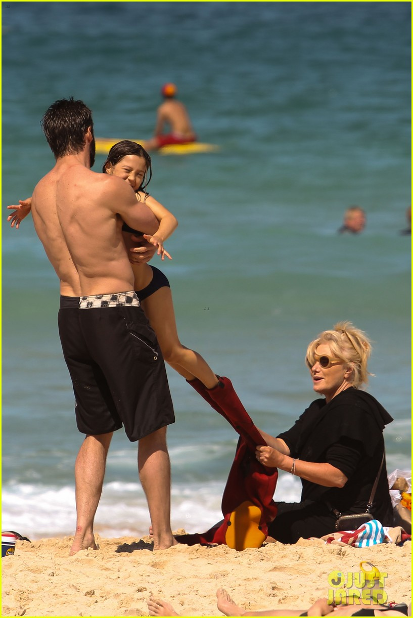 hugh jackman shirtless at bondi beach 102726464