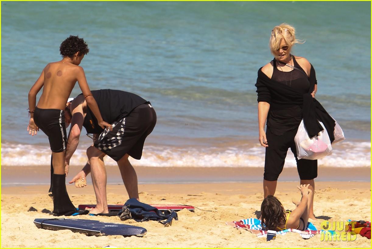 hugh jackman shirtless at bondi beach 202726474