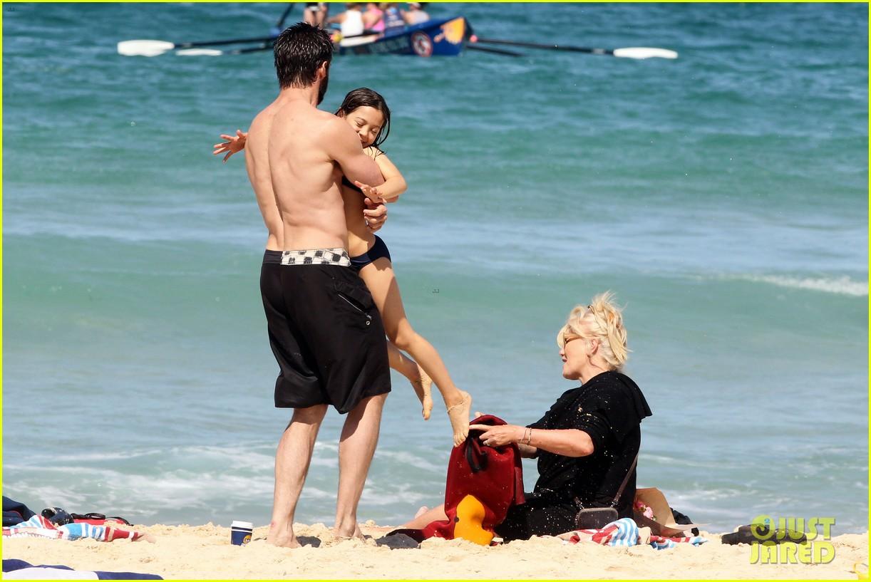 hugh jackman shirtless at bondi beach 562726510