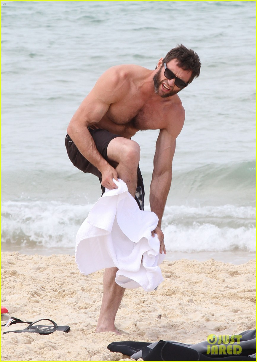 hugh jackman shirtless sydney stud 092730516