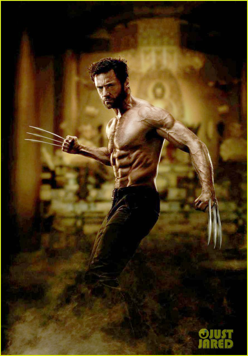 hugh jackman shirtless in first the wolverine still2727815