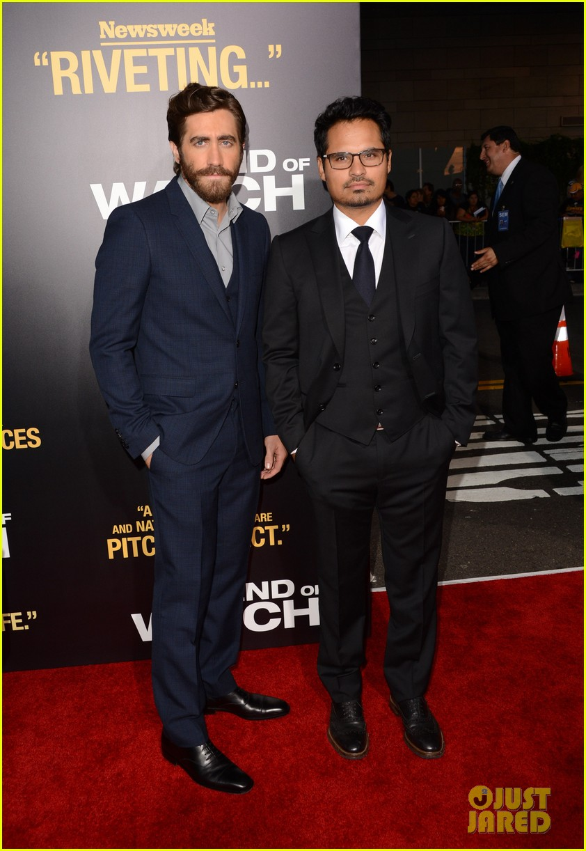jake gyllenhaal anna kendrick end of watch premiere 012724032