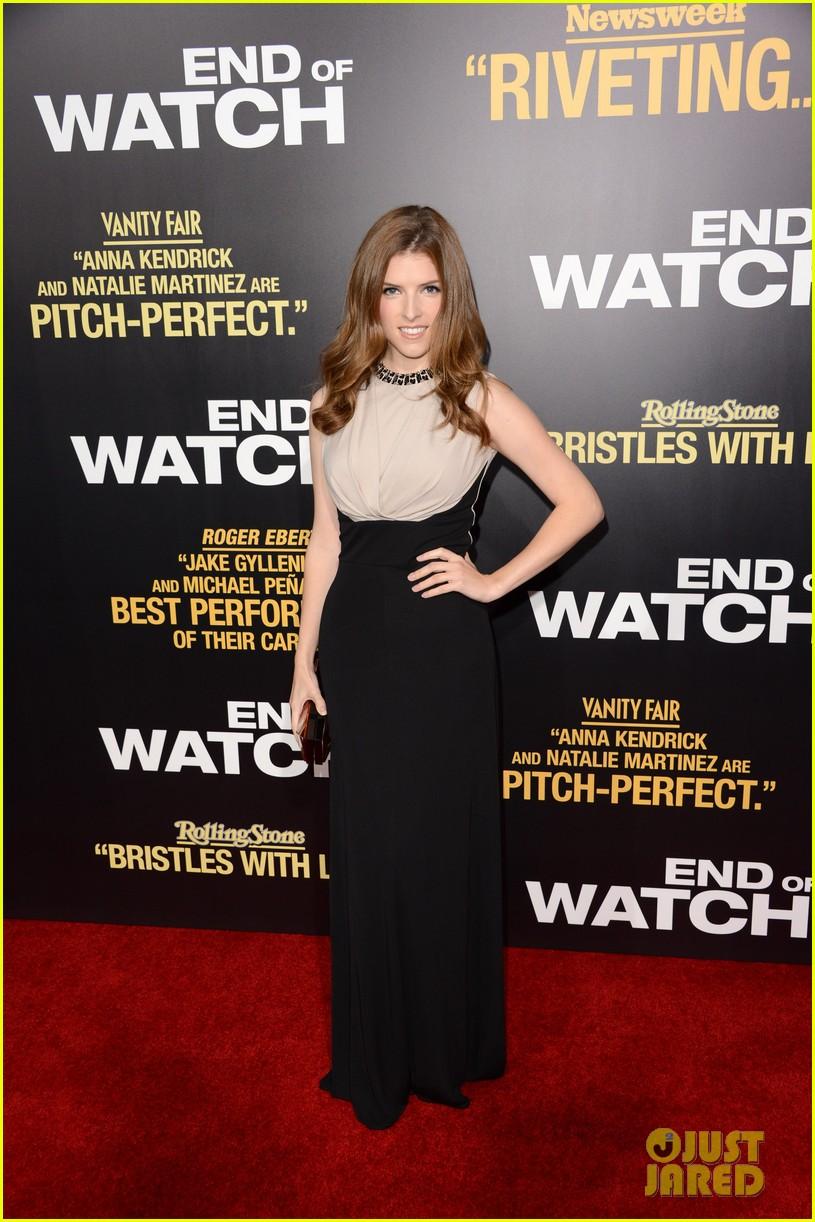 jake gyllenhaal anna kendrick end of watch premiere 202724051