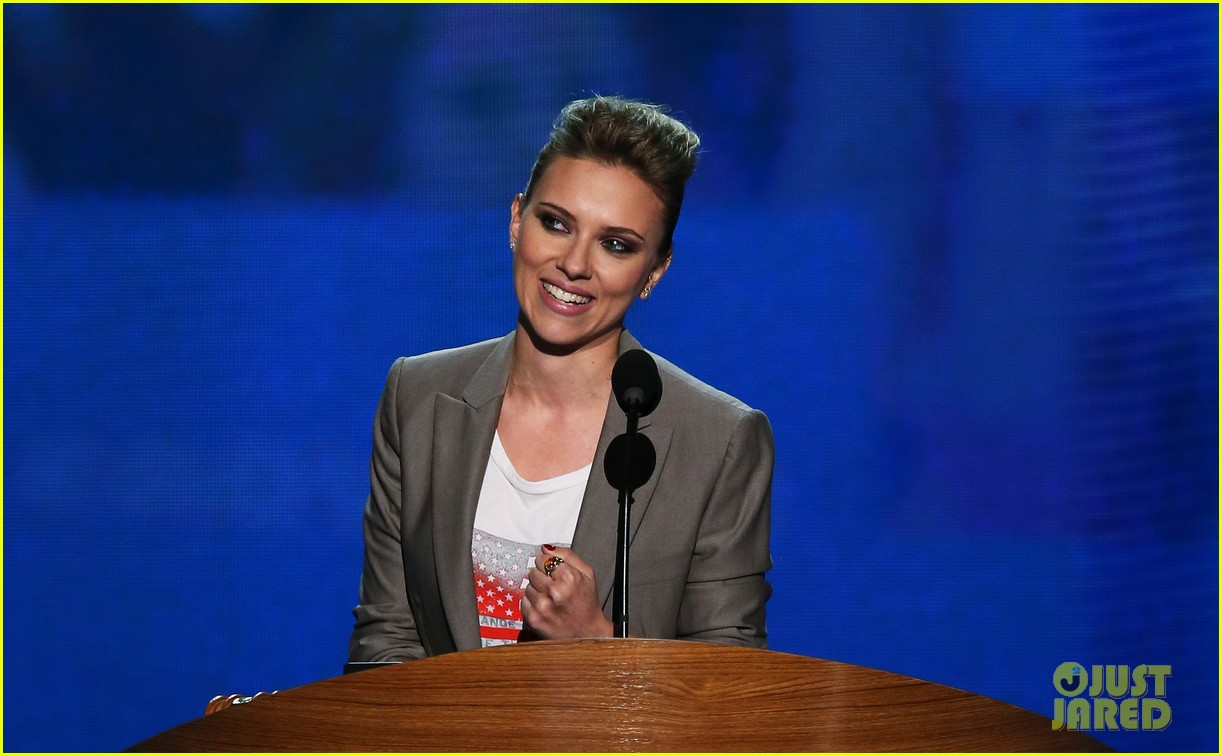 scarlett johansson speech democratic national convention 13