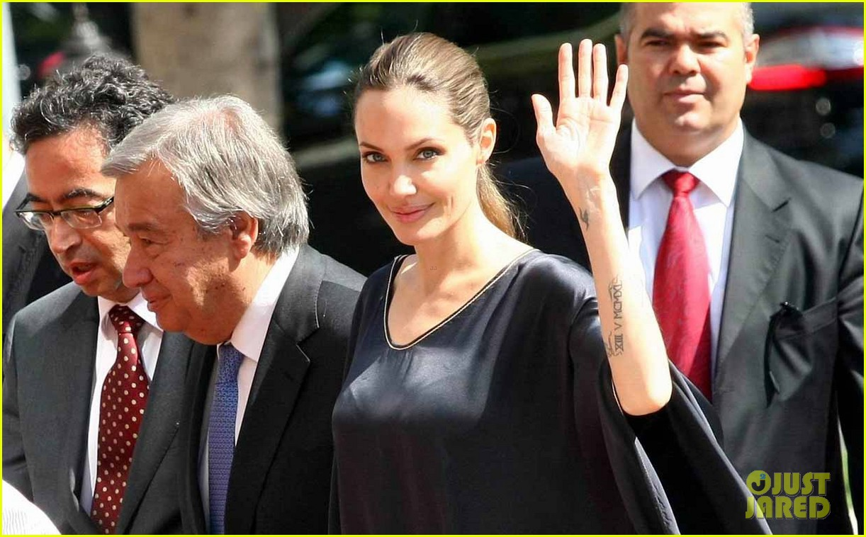 angelina jolie meets turkish prime minister 042721862