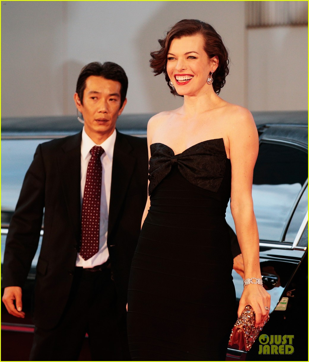 milla jovovich resident evil retribution japan premiere 172713418