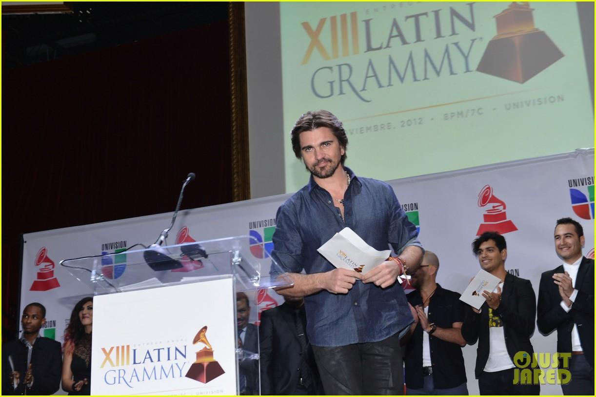 juanes latin grammys nominations announcement 132728997