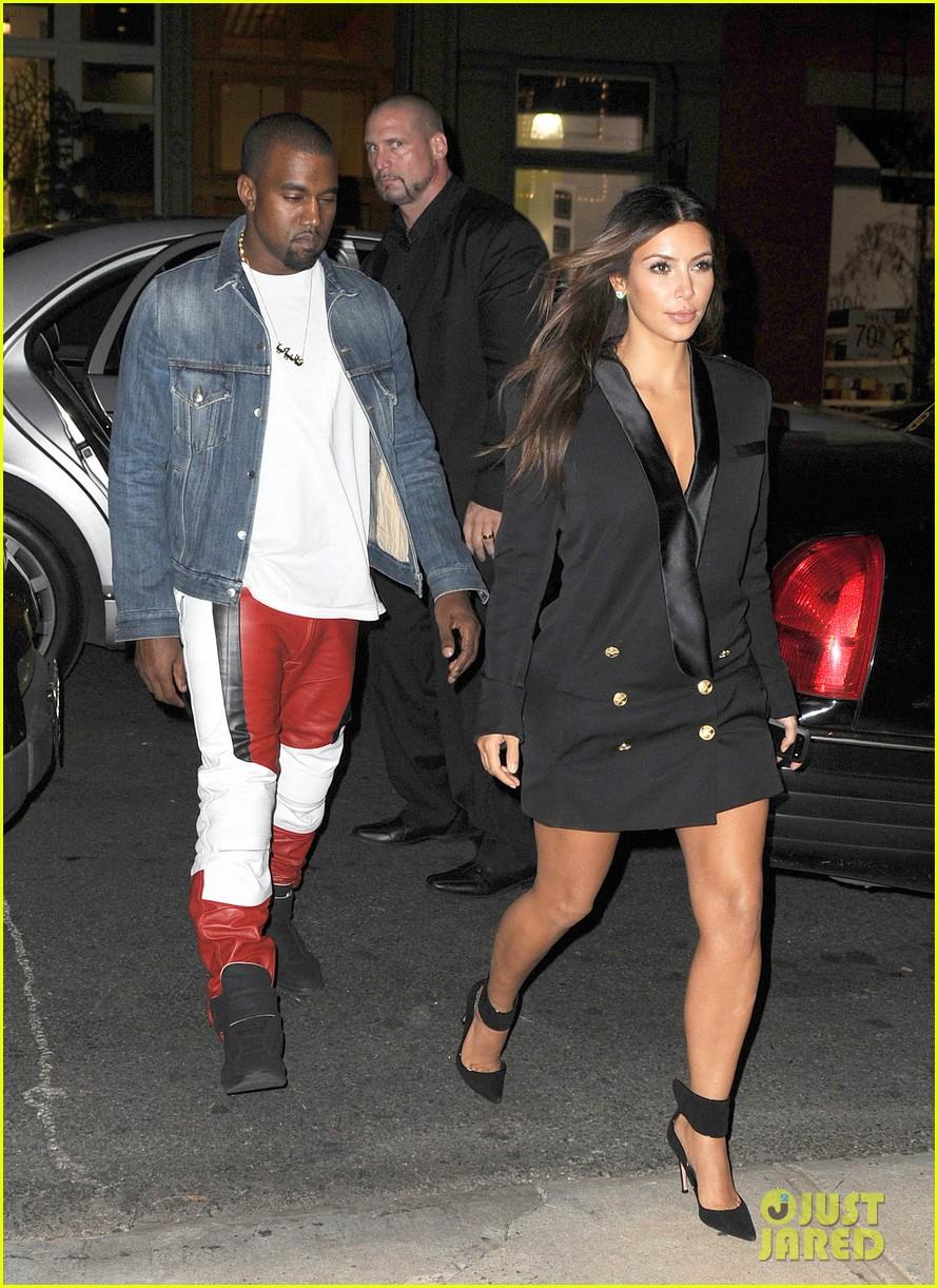 kim kardashian kanye west ice cream cone couple 212721523