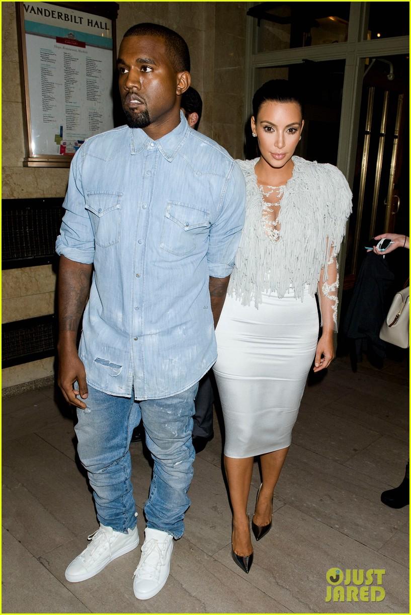 Kim Kardashian & Kanye West: Louise Goldin Fashion Show!: Photo ...