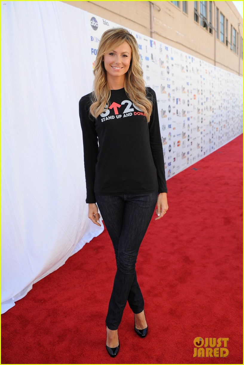stacy keibler minka kelly stand up to cancer telecast 012716950