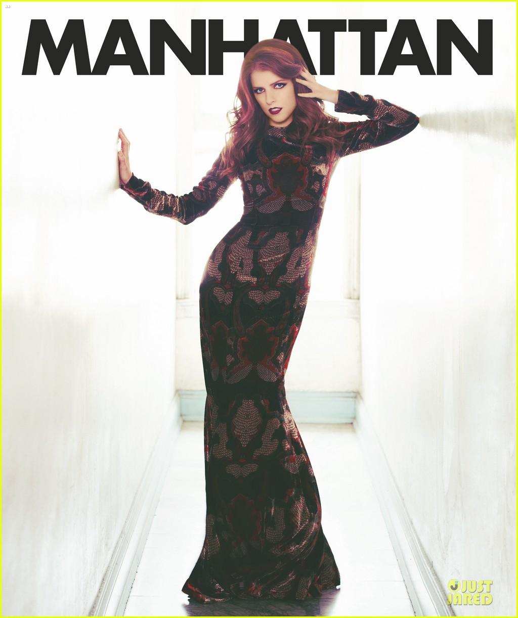 Anna Kendrick Covers Manhattan Magazine