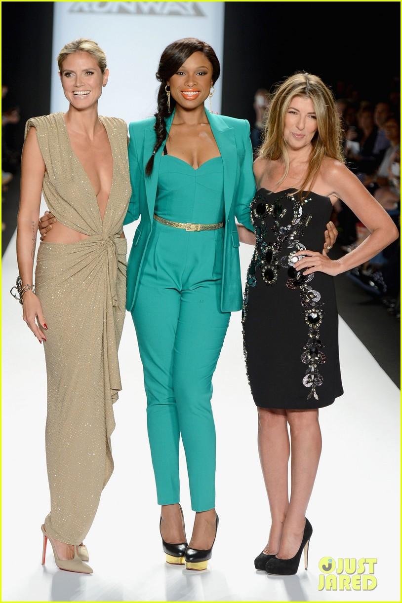 heidi klum jennifer hudson project runway fashion week 032716326