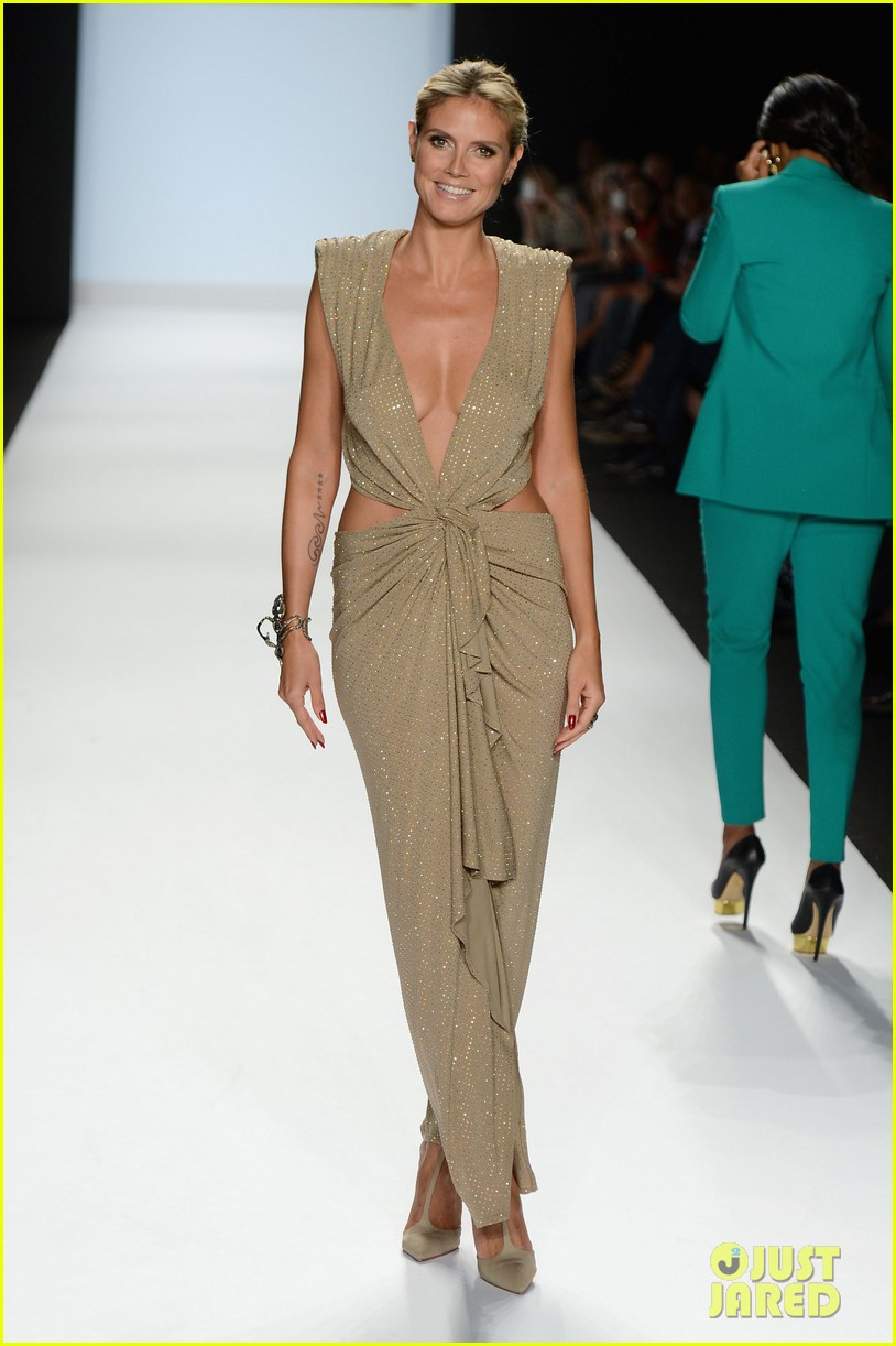 heidi klum jennifer hudson project runway fashion week 092716332